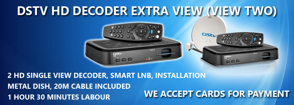 DSTV HD Decoder Extra View